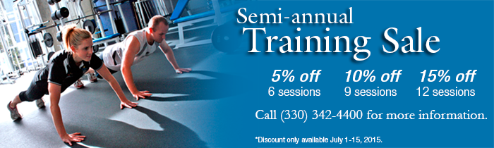 Semi-Annual Training Sale