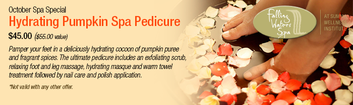 October Spa Special - Spa Treatment Hudson, OH
